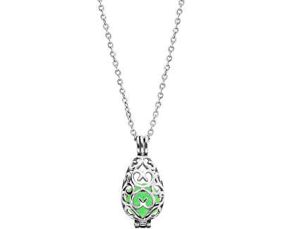 Multifunkční ocelový náhrdelník s vyměnitelným středem 132466