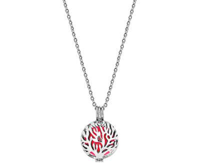 Multifunkční ocelový náhrdelník s vyměnitelným středem 132472