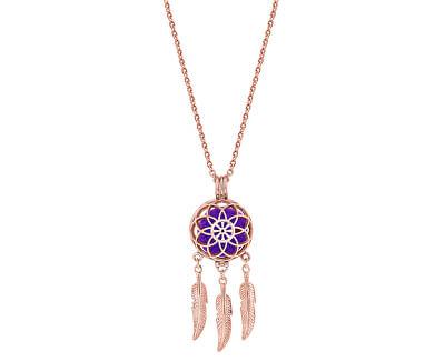 Multifunkční pozlacený náhrdelník Lapač snů s vyměnitelným středem 132462D