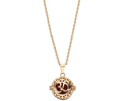 Multifunkční pozlacený náhrdelník s vyměnitelným středem 132467J