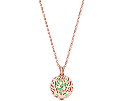 Multifunkční pozlacený náhrdelník s vyměnitelným středem 132472D