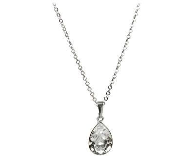 Náhrdelník Pear Crystal 14 mm