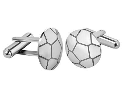 Oceľové manžetové gombíky Futbalová lopta