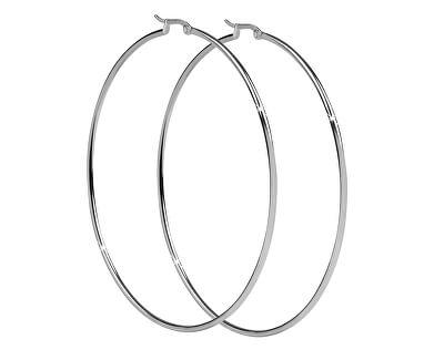 Oceľové náušnice kruhy 2 - 8 cm