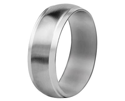 Ocelový snubní prsten