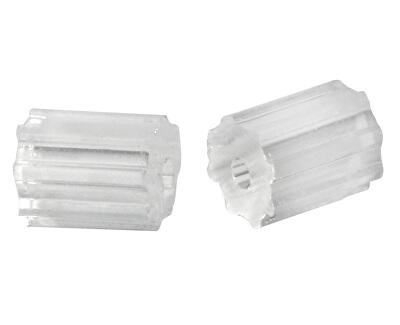 Plastový uzávěr váleček na dříkové náušnice - 3 páry