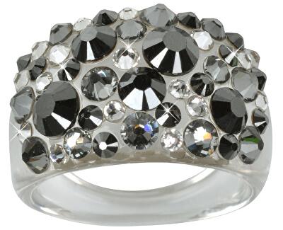 Prsten Bubble Hematite
