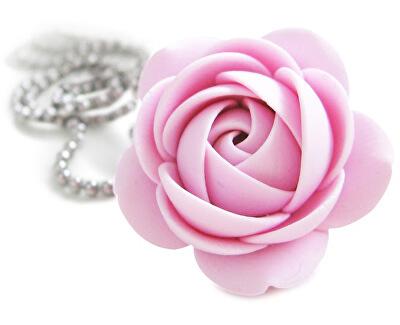 Troli Colier roz floare