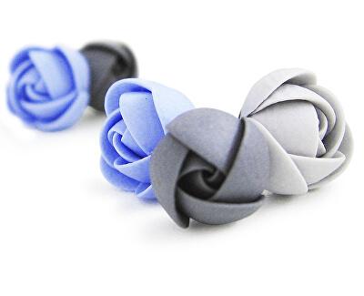 Midnight Flowers fülbevaló készlet
