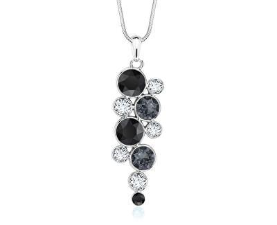 Slušivý náhrdelník Chaton Black mix