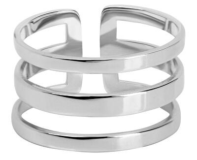 Inel triplu elegant oțel