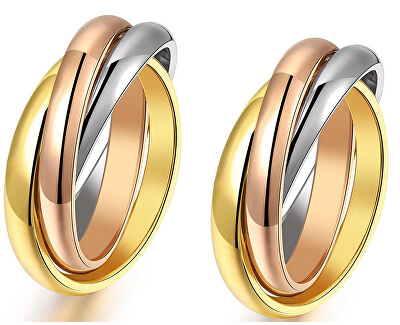 Előnyös tricolor gyűrűk KRS-247