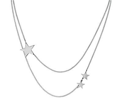Tribal Hvězdičkový ocelový náhrdelník NSS459