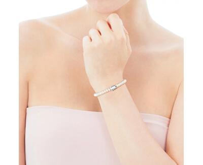 Perlový náramek s holčičkou ve velikosti M 015901520