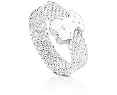 Ezüst gyűrű medve 010390200