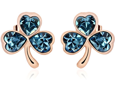 Vicca® Náušnice Lucky Gold Blue OI_440211_goldblue