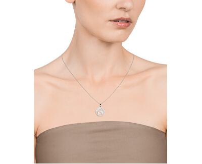 Dámský náhrdelník s mapou světa Kiss 15018C01000