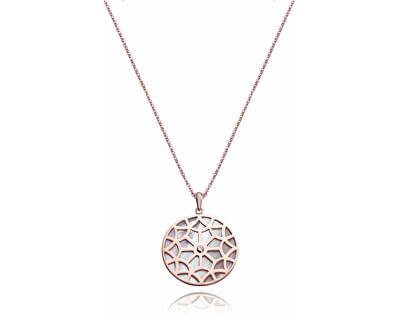 Bronzový náhrdelník s perletí Chic 75063C01012