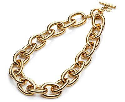 Moderní pozlacený náhrdelník Fashion 3150C09012