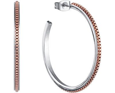 Ocelové kruhové náušnice Chic 5116E19019