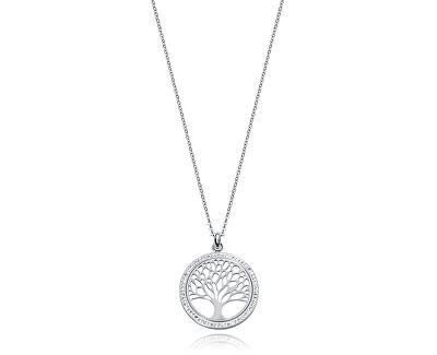 Ocelový náhrdelník se stromem života Chic 75130C01000