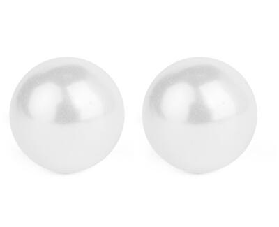 Úžasné náušnice pecičky s perlami Maggie Silver