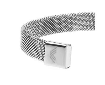 Luxusní ocelový pevný náramek VB1063S