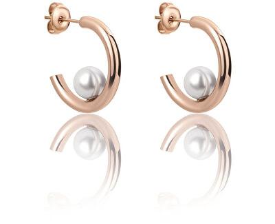 Cercei cercuri cu perlă VE1101R