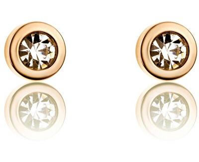 Cercei placați cu aur cu cristale VE1091G