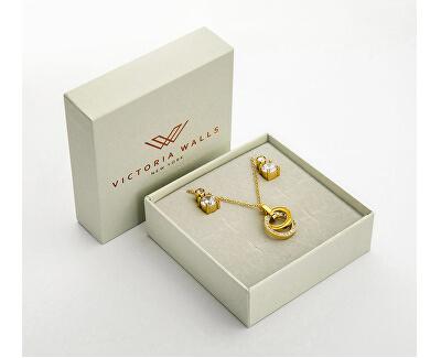 Súprava náušníc a náhrdelníka VS1087G
