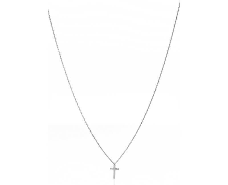 Amen Originální stříbrný náhrdelník Pray, Love CLCB4