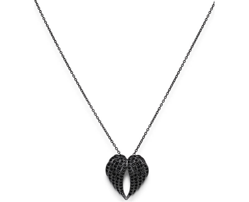 Amen Colier original din argint cu zircon Angels CLWH3NN