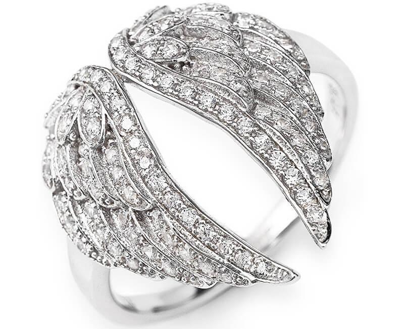 Amen Inel original de argint cu zirconi Angels RWH3