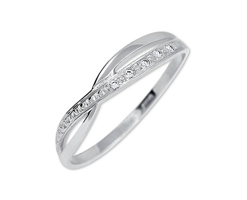 c8d39559f Brilio Inel de cristal din aur alb de aur 229 001 00621 07 Transport ...