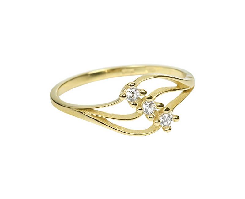 Brilio Dámský prsten s krystaly 229 001 00546 - 1,25 g