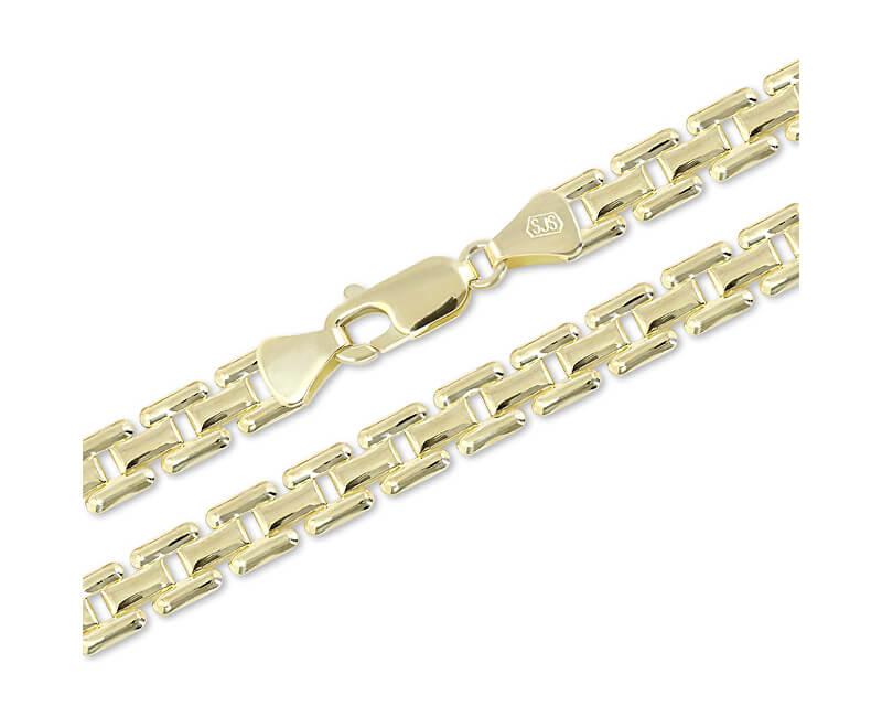 Brilio Lanț de aur de lux 42 cm 271 115 00306 - 12.30 g - REDUCERE