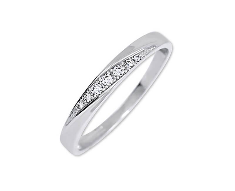 Brilio Pěkný prsten s krystaly 229 001 00602 07