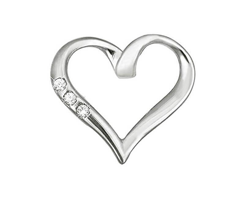 738d7dfbe Brilio Zlatý prívesok srdce s kryštálmi 249 001 00354 07 - 0,80 g ...