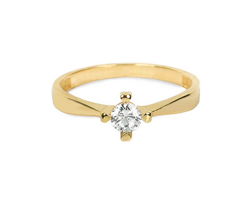 Brilio Zlatý zásnubní prsten 226 001 01016 - 1,95 g