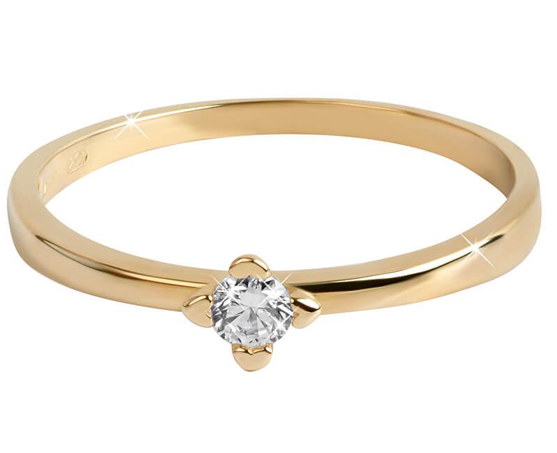 Brilio Zlatý zásnubní prsten 226 001 01022