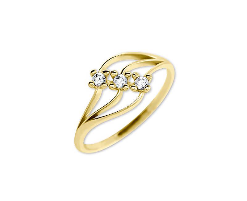 Brilio Dámský prsten s krystaly 229 001 00546 - 1,40 g