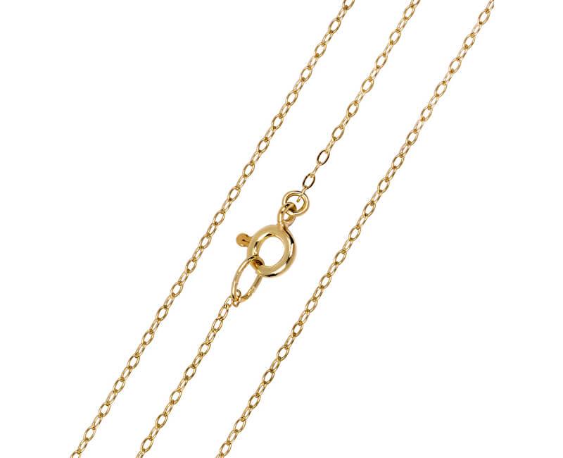 2ffef6603 Brilio Elegantní zlatý řetízek Anker 42 cm 271 115 00272 - 1,25 g ...