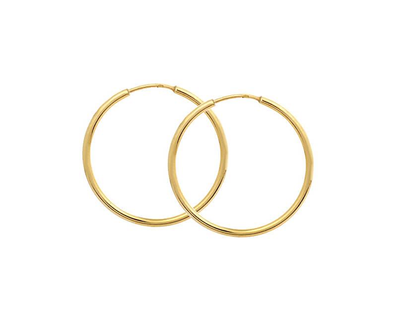 19d981a2f Brilio Zlaté náušnice kruhy 231 001 00428 - 1,50 g Doprava ZDARMA ...