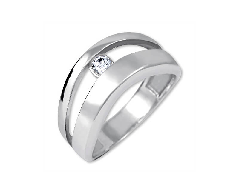 Brilio Silver Originální stříbrný prsten 426 001 00440 04 - 2,95 g