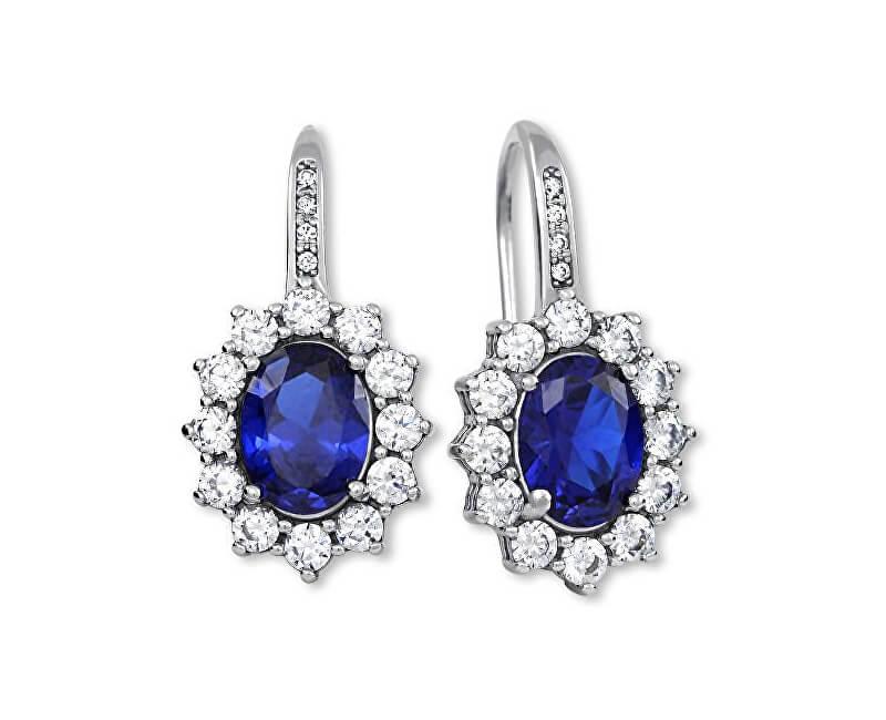 Brilio Silver Překrásné náušnice princezny Kate Middleton 436 001 00478 04
