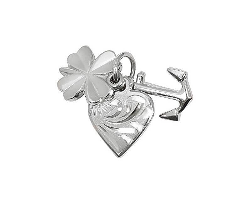 Brilio Silver Stříbrný přívěsek láska, štěstí, naděje 441 001 00005 04 - 1,15 g