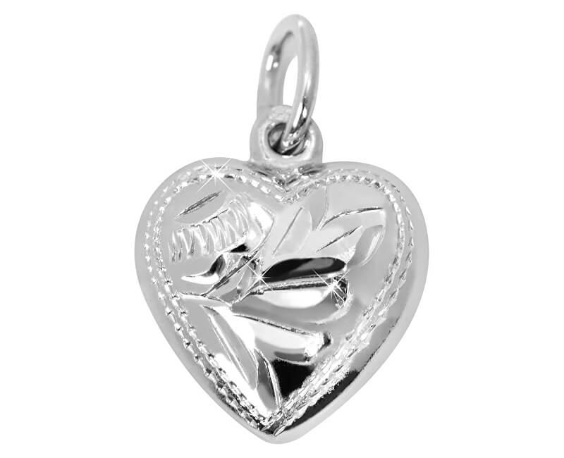 Brilio Silver Stříbrný přívěsek Srdce 441 001 00030 04 - 0,96 g