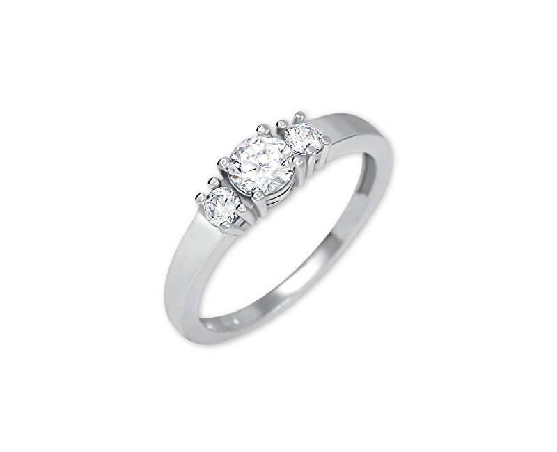 Brilio Silver Stříbrný prsten s krystaly 426 001 00498 04 - 2,03 g