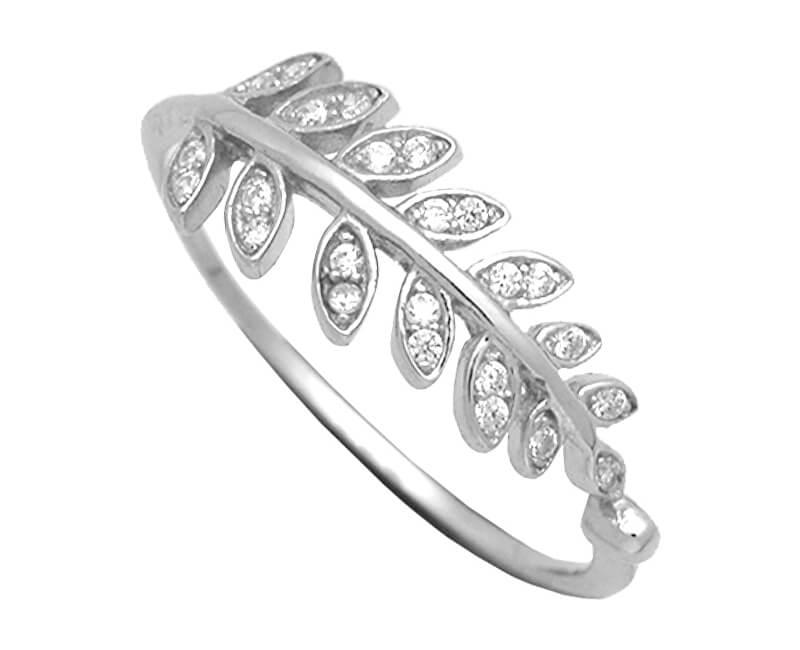 Brilio Silver Stříbrný prsten se zirkony 31G3031
