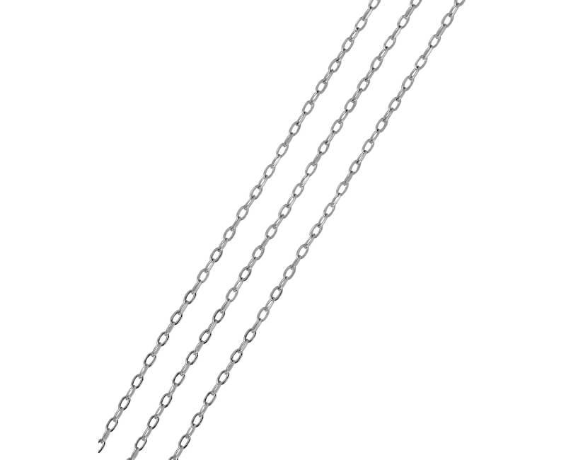 Brilio Silver Lanț de argint Anker 50 cm 471 115 00006 04 - 1.67 g